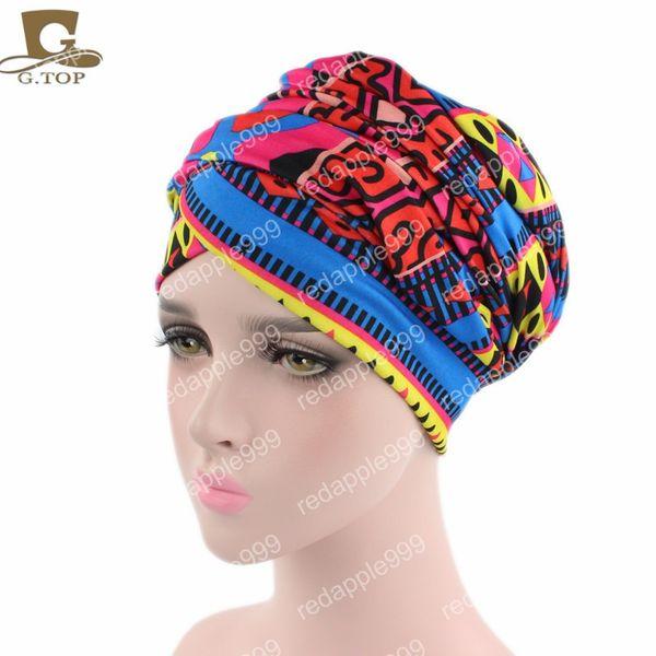 African design Headscarf long Head scarf Jewish Headcover Turban shawl Warp Hair African Headwrap Bohemian Headwrap Chem