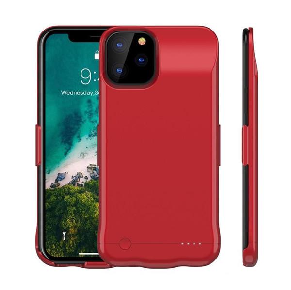 iPhone İçin Pil Kılıf Perakende Paketi ile 11 Pro Max 6200 Mah Pil Kılıf Taşınabilir Telefon Yedekleme Şarj edilebilir Genişletilmiş Şarj Kılıf