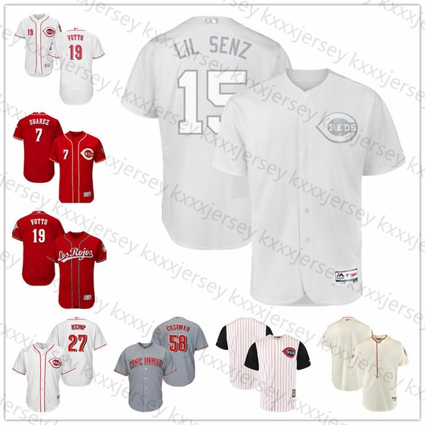 Cincinnati Custom Reds Jersey Johnny Bench Joe Morgan Barry Larkin Dave Concepcion Pete Rose Chris Sabo Deion Sanders Tony Perez Hommes Maillots