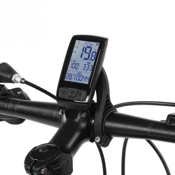 901733f90 LCD bici ordenador inalámbrico Bluetooth bicicleta cuentakilómetros  velocímetro Moutain carretera bicicleta cronómetro con soporte de  computadora