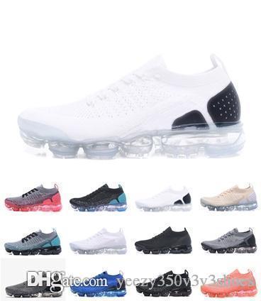 2018 Vapors Дешевая распродажа кроссовок Plyknit Shoes Men Green Trainers Теннис 2018 2.0 Обувь Man Sport Аутентичные Размер 5.5-11