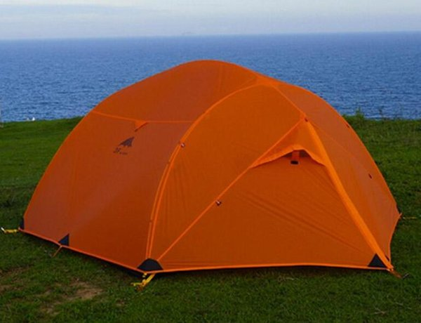 - 3F UL Gear Qinkong 15D silicon Coating 3-person 3-Seasons Camping Tent with Matching Ground Sheet
