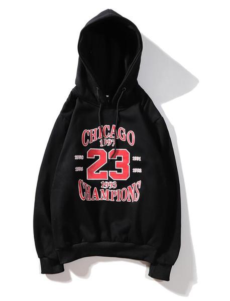 19ss üst erkek kapşonlu resmi web sitesi yeni şampiyonlar hoodies ih nom uh nit hoodie Chicago 23 mektup kapüşonlu kazak hoodie pamuk kalite tops