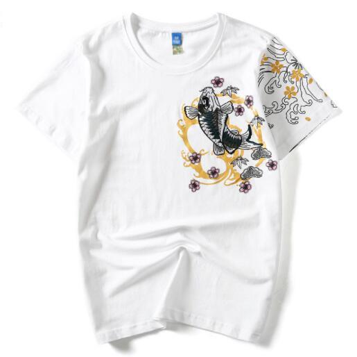 Yaz Tasarımcı T Shirt Erkek Gömlek Için Moda Nefes Kısa Kollu Erkek Tee Gömlek Marka Erkek Üst Giyim M-4XL Toptan