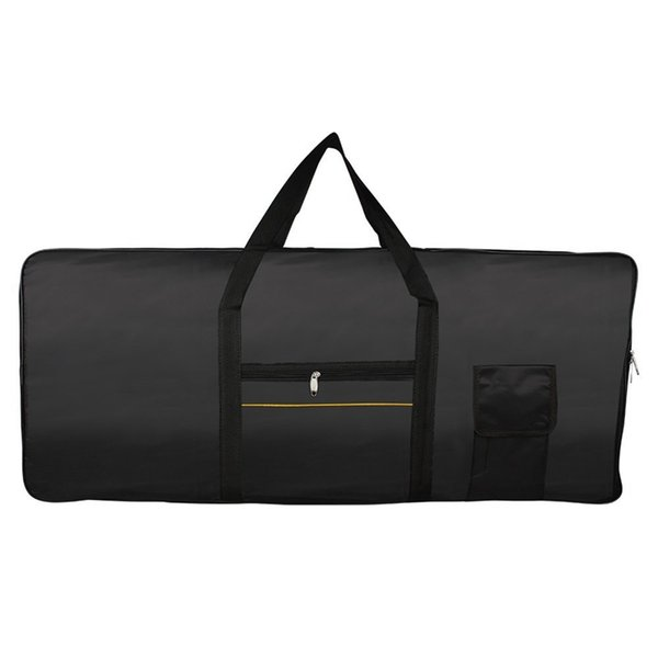 Portable 61-Key Keyboard Electric Piano Padded Case Gig Bag Oxford Cloth