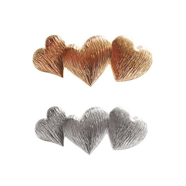 Women Sweet Heart Hair Clip Girls Cute Barrette Lady Hair Pin Bobby Pins Hair Ornament Decoration Accessory Gifts CT39