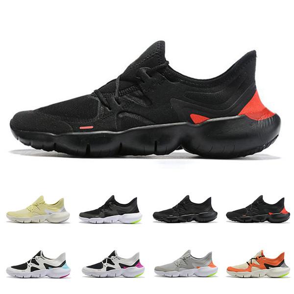 Zapatillas Hombre Nike Free RN 5.0 Negro Tennis Warehouse