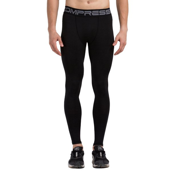ESHINES Fashion New Quick-drying Tights Men's Sports Running Basketball Fitness Pants Polyester Material Cheap Price For Male