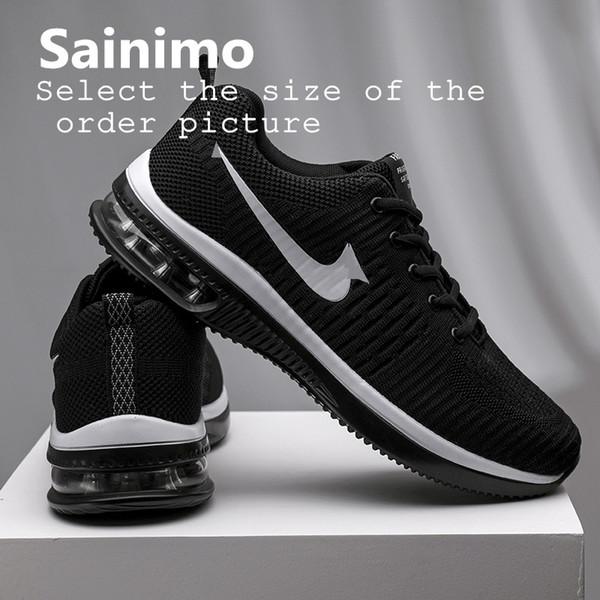 Sainimo Chaussures de sport légères pour hommes Sneakers Chaussures Hommes Chaussures Casual Lover Chaussure Homme