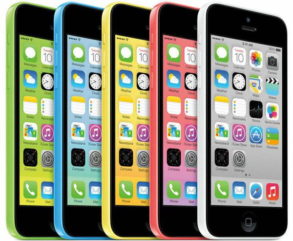 Original Refurbished Apple iPhone 5C IOS 8.0 Dual Core 4G LTE 3G WCDMA Unlocked Smartphone