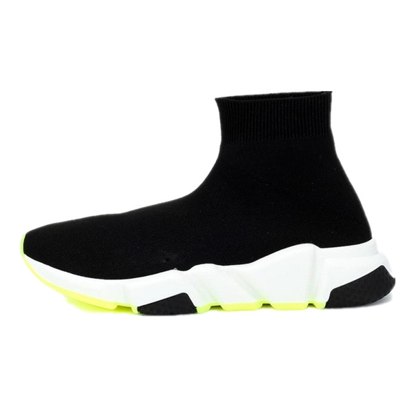 2020 Fashion designer sock shoes speed trainer casual sock boot Triple Black White Red Flat Runner Womens Mens Sneakers 36-45 t01