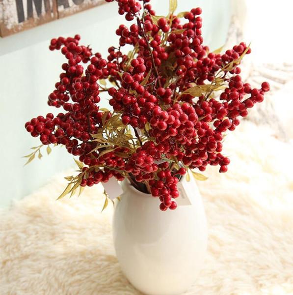 Simulation Dried Branches wedding decoration supplies artificial flower home desktop decorative vase flower arrangement Decorative Flowers