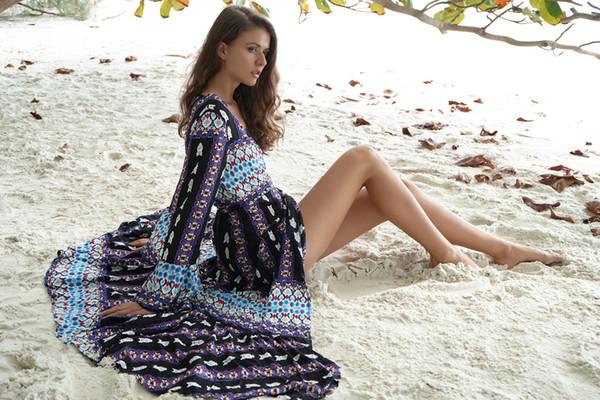 Платья с длинными рукавами и вышивкой с рукавами-амбулаторной одеждой Amazon Express