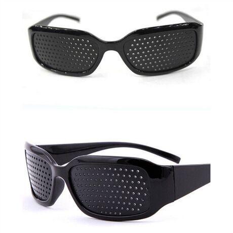 Зрение Уход за мужской Пинхол очки Зрение Улучшитель Анти-усталость очки унисекс Глазковый очки анти-усталости очки KKA7568