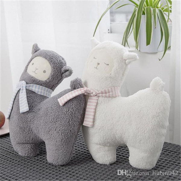 20170624 Japanese Alpaca Doll Cute Plush Toys Soft Hold Pillow Girl Birthday Gift Free Shiipping 43cm