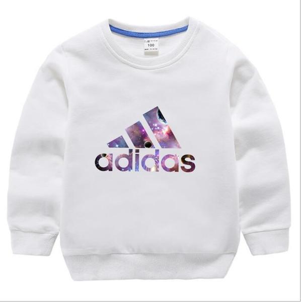 2019 Nouvelle Arrivée Printemps Automne Dessin Animé Bébé garçons filles Sports Vêtements Enfants À Capuche Sweat-shirts Manteau Enfants Vêtements veste Survêtement
