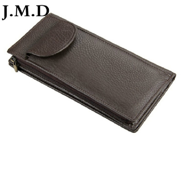 low priced e4318 22ab2 J.M.D 100% Real Genuine Leather Purse Wallet Card Holder Convenient Cell  Phone Pocket 8065 Expensive Wallets Snakeskin Wallet From Gudushanhu,  $18.54  ...