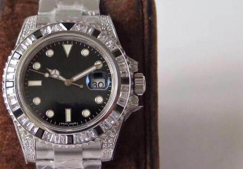 GS роскошные часы: 40 мм. алмазные часы 904l сталь, верхняя Чайка 2836 автоматическая topspin машина мужские часы