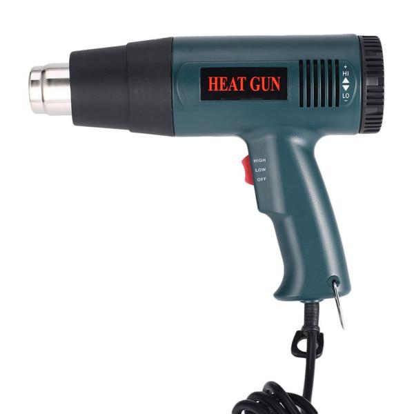 Heißluft-Wärmepistole Rework DIY Werkzeug + Düse 866B 1800W Elektrische Temperatur Fan Einstellbare Shrink Wrap Abbeizmittel