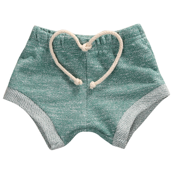 top popular Emmababy Lovely Newborn Baby Kids Girl Casual Sport Drawstring Loose Cotton Shorts Pants 3M-4Y 2021