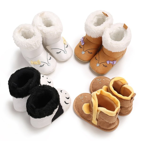 Christmas Shoes For Girls.2019 Cartoon Eyes Wool Baby Shoes Baby Christmas Soft Bottom Shoes Boys Girls Snow Warm Toddler Shoes Snow Boots From Fortnite2018 4 53 Dhgate Com
