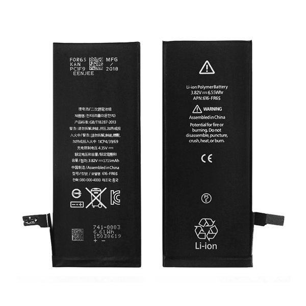 Da Da Xiong Original Battery for apple iphone 4s 5g 5s 5c 6g 6s 6plus 7g 7 8 plus X Batteries Replacement Fast shipping