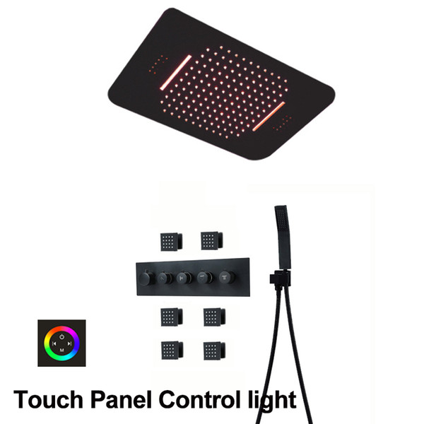 Panel táctil de control de luz