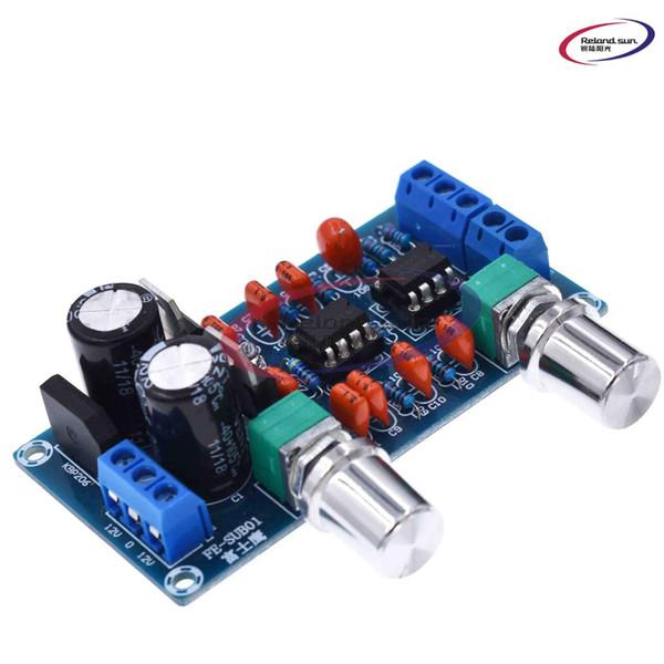 NEW NE5532 Low Pass Filter Board Subwoofer Volume Control Board Module 9-15V