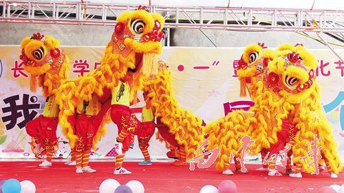 top popular children day Lion Dance mascot Costume pure wool Southern children day school birthday opening wedding parade stage outdoor chinese Folk 2020