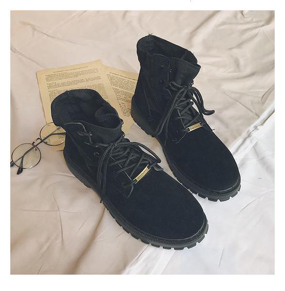 X147 Adam Bahar Casual Boot Nefes Işık Erkekler Dantel-up yeni kadın lar deri Boot vahşi kişilik ayakkabı Moda Büyük Beden 39-46
