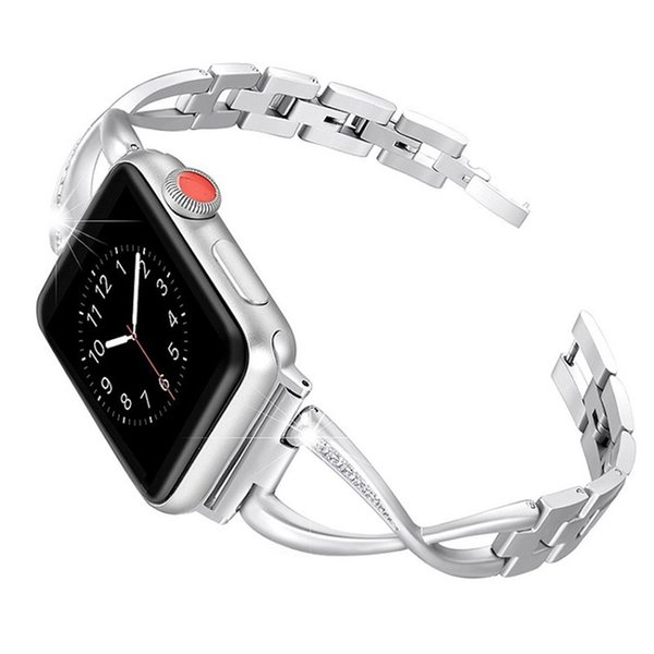 Band Color:Silver&Band Width:38mm