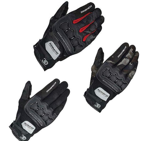 Бесплатная доставка Komine Gk215 защитные 3d летняя сетка мотоцикл мотокросс Велоспорт езда перчатки сенсорный экран перчатки