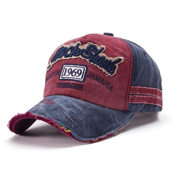 Wholesale Cotton Cap Spring Baseball Cap Snapback Hat Summer Hip Hop Fitted Hats For Men Women Grinding Multicolor