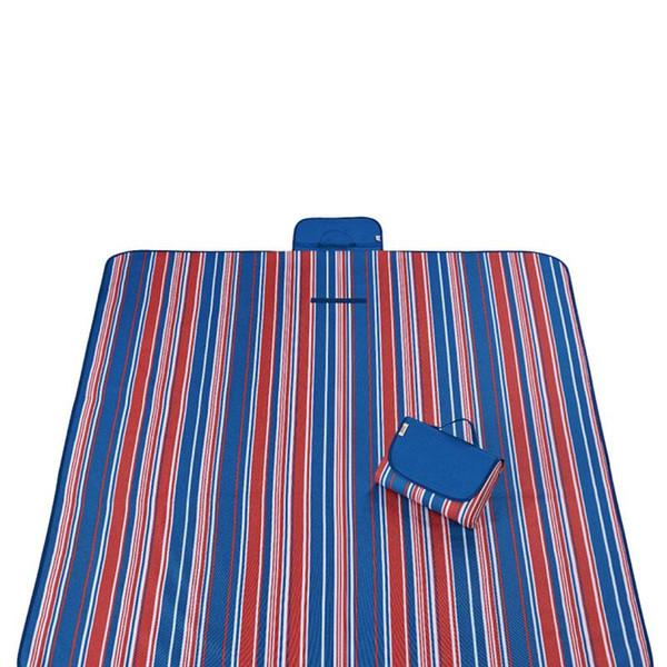 150 * 200 CM Estera de camping en la playa Picnic Dibujos animados Bebé colchonetas de escalada Multijugador Fold Impermeable