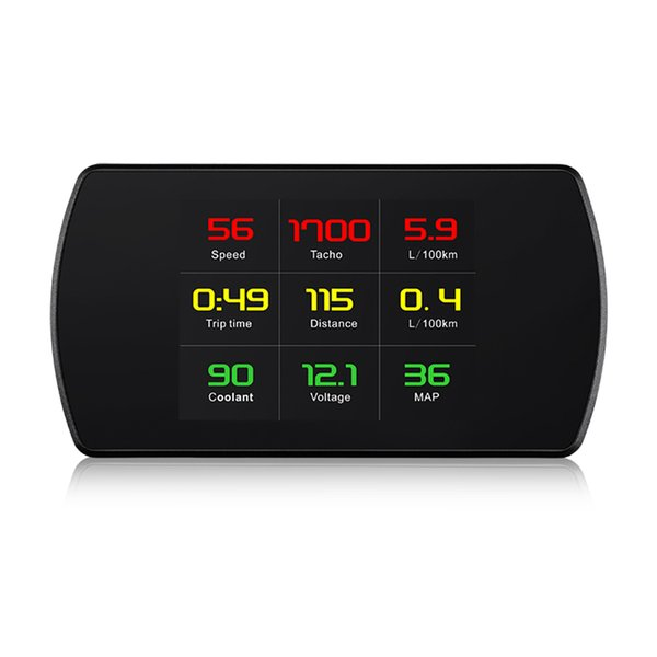 Wholesale factory 4.2 inch hud head up display P12 for OBD GPS Cars Screen Windshield Automotive Projector