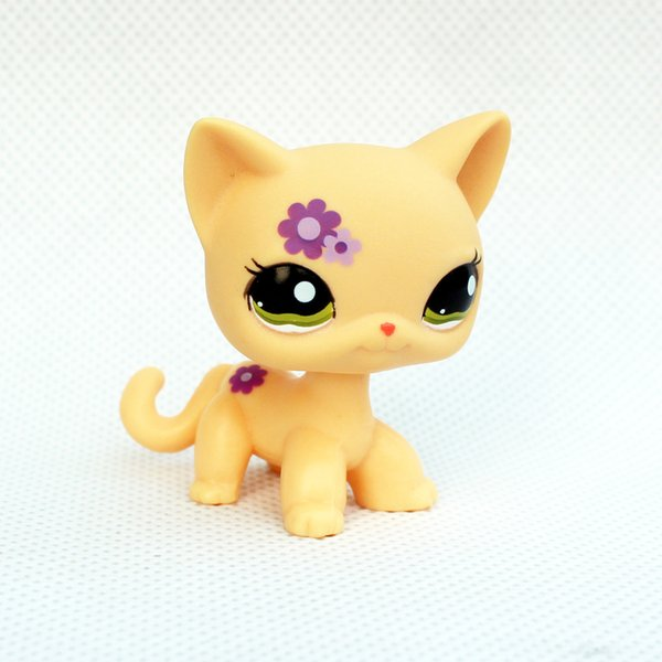 best selling pet toys 5cm figure short hair cat