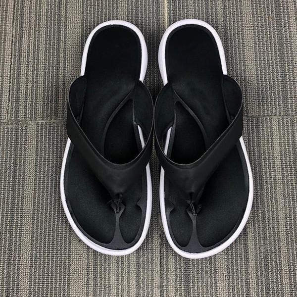 2019 Designer Nik Slide Sandal Slippers Bottoms Beach Holiday For Men Women Flip Flops Striped Beach Causal Slipper