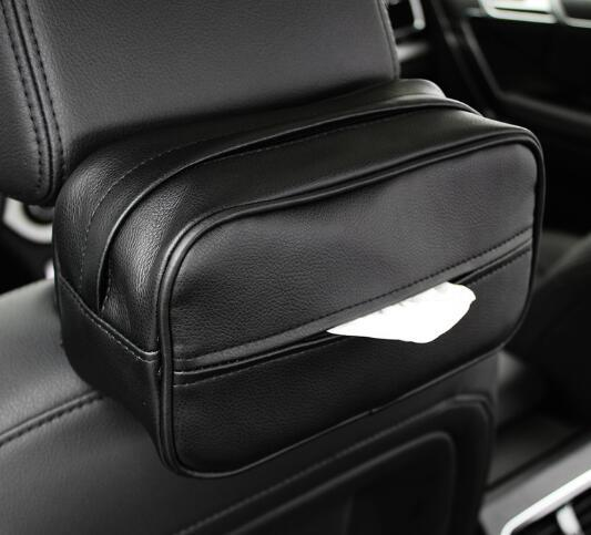 Sun Visor Armrest Cover Chair Back Hanging Type Car Inside with Tissue Box Creative Car Supplies Tissue Paper Tray Cute
