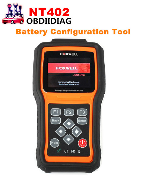 Foxwell NT402 New Arrival for Start-Stop System and Battery Configuration Read ECU information Freeze Frame Data