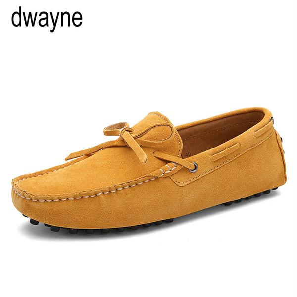 Erkek Loafers Sürüş Ayakkabı marka yeni süper yumuşak deri erkekler loafers ayakkabı Casual 2019 üzerinde Hakiki deri s ...
