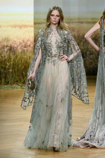 Evening dress Ziad naked Elie saab Yousef aijasmi 2018 With cape Ball gownl Appliques Zuhair murad Kylie Jenner 93