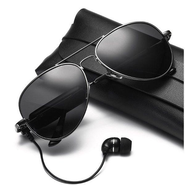 Smart Sunglasses Wireless Bluetooth sunglasses Sports headphones MP3 player Bluetooth mobile phone wireless headset Bluetooth glasses lenses