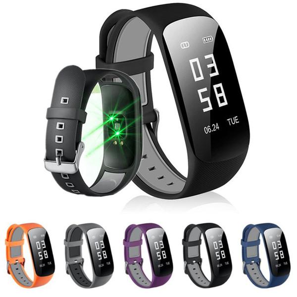 Fitness Tracker Armband Z17 HR Fitness Tracker Smart Armband Armband Pulsmesser Schlaf Monitor Schrittzähler GPS Wasserdichte Fitnessuhr Für Iphone