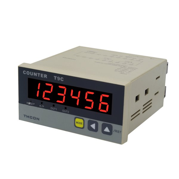 TMCON T9C-1PS Intelligent Intelligent Counter, DC24V AC250V Electronic Digital Counter with RS485 Communication