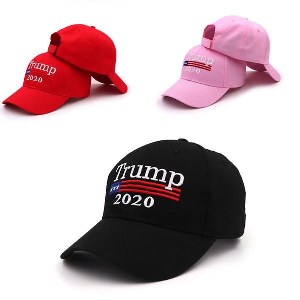 Yeni Stil Nefes Amerika Büyük Tekrar Şapka Kadın Erkek Pamuk Nakış Kapakları Başkan Spor Snapbacks Güneş Beyzbol Şapkası Trump Şapka M18Y