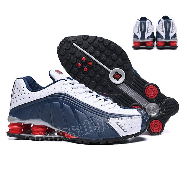 40-46 Blue White Red