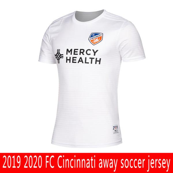 Best Of Cincinnati 2020 2019 2019 2020 MLS FC Cincinnati Away Soccer Jersey Top Best