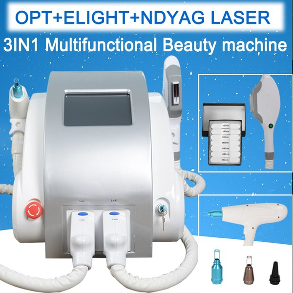 top popular IPL RF laser hair removal machine shr permanent hair removal elight Pigment Removal diode hair reduction laser machine nd yag laser 2020