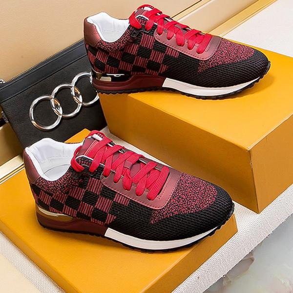 Lüks Erkek Ayakkabı Sneakers Nefes Rahat Spor Sneakers Lüks Orijinal Kutusu ile Run Away Sneaker Erkek Ayakkabı Moda Tipi Chaussures