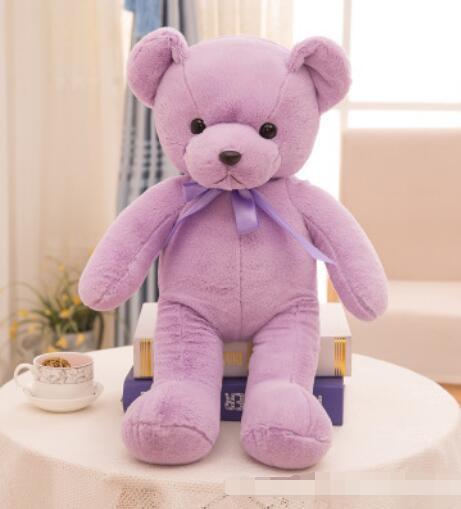 24 # fabrika toptan büyük moda oyuncak ayı bebek kravat yay kucaklama ayı peluş oyuncak bebek aktivite hediye 45 cm